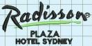Radison Plaza Hotel, Sydney