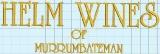 Helm Wines of Murrumbateman