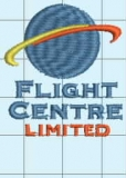 Client Embroidery - Flight Centre