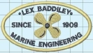 Client Embroidery - Lex Baddiley Marine Engineering